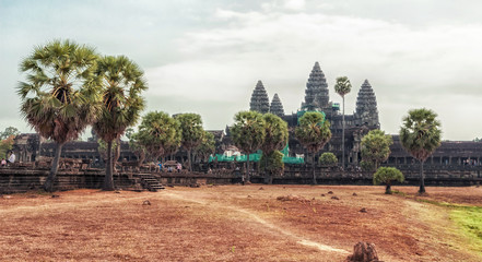 Angkor Wat complex in Siem Reap, Cambodia