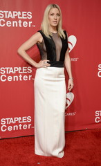 Ellie Goulding attends the 2016 MusiCares Person of the Year gala in Los Angeles
