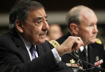 Leon Panetta and General Martin Dempsey testify in Washington on the Defense Department's response to the attacks on US facilities in Benghazi