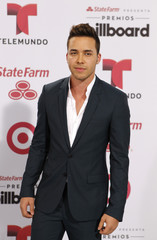 Singer Prince Royce arrives at the 2015 Latin Billboard Awards in Coral Gables