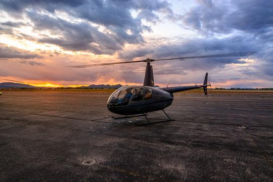 Robinson R44 Shutdown