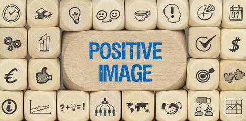 Positive Image / Würfel mit Symbole
