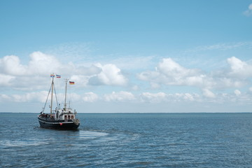 Schiff Great Palucca vor Sylt