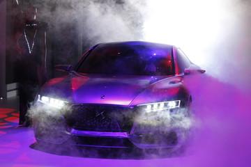 The Divine DS concept car is displayed on media day at the Paris Mondial de l'Automobile