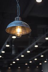 indoor light in coffee shop
