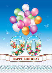 Happy birthday 90 years