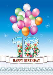 Happy birthday 18 years
