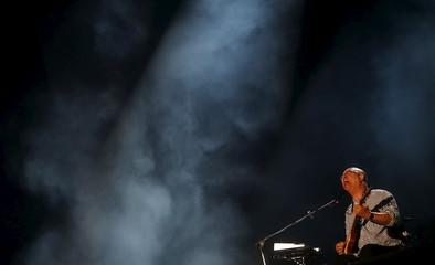 Vianna of Paralamas do Sucesso performs during the Rock in Rio Music Festival in Rio de Janeiro