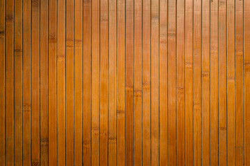 Bamboo texture wall background top view