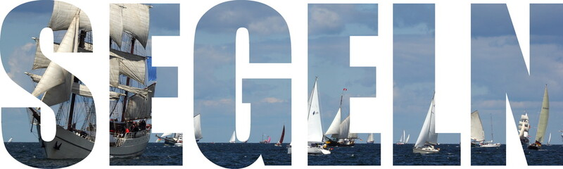 Foto auf Leinwand Segeln segeln
