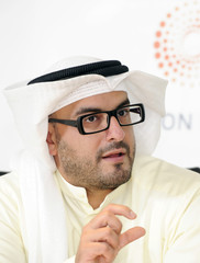 Ahmad Al-Hamad of KCIC speaks during the Reuters Middle East Investment Summit in Kuwait City