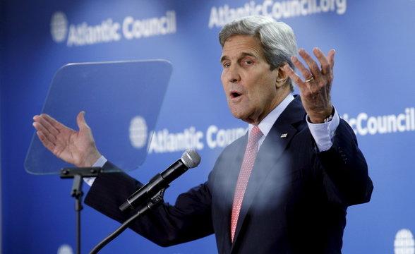 Secretary of State John Kerry in Washington