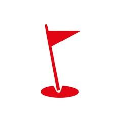 flag icon stock vector illustration