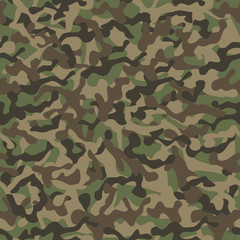 Classic camouflage seamless background