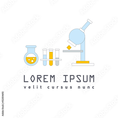 Vector Symbol Of Laboratory Stock Image And Royalty Free Vector