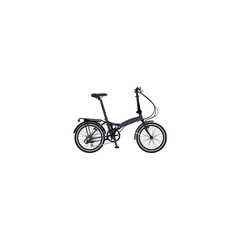 Realistic Fitness Wheel Element. Vector Illustration Of Realistic Folding Sport-Cycle Isolated On Clean Background. Can Be Used As Folding, Bicycle And Bike Symbols.