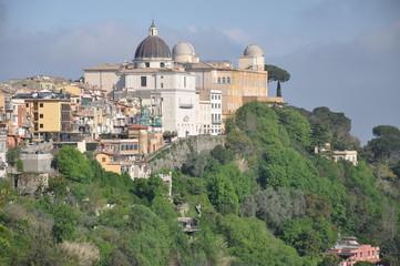 Castel Gandolfo, Sommersitz des Papstes bei Rom