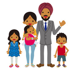Young family -Indian