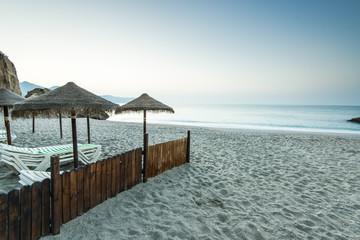Beach in Nerja, Spain