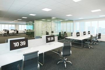 3d illustration of the modern office