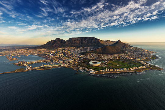 Table Mountain aerial view