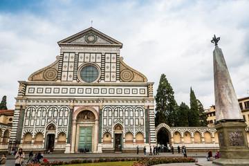 La basilique Santa Maria Novella à Florence