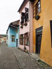 Street in Sighisoara citadel