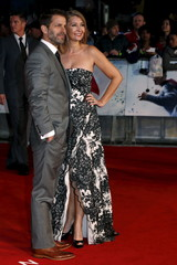 """Director Zack Snyder and wife producer Deborah Snyder arrive for the European Premiere of """"Batman V Superman: Dawn of Justice"""" in Leicester Square in London"""