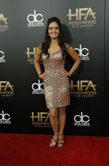 Actress Danica McKellar arrives at the Hollywood Film Awards in Beverly Hills