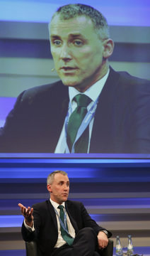 Martin, Director-General, Government and Industry Cyber Security of Britain's intelligence service Government Communications Headquarters (GCHQ) speaks at the CyberSecurity summit in Bonn