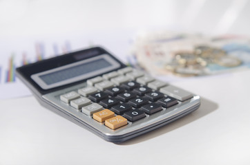 Obraz kalkulator - fototapety do salonu