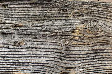 Structure of rustic plank