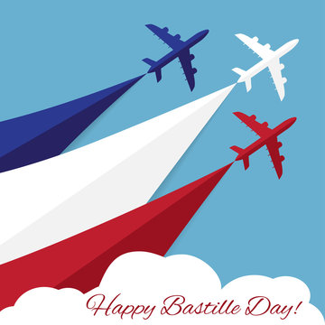 Happy Bastille Day. Independence Day of France