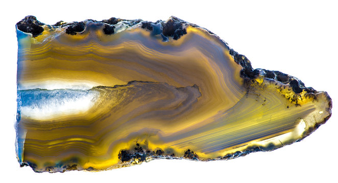 Texture and structure of agate