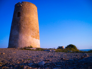 Torre del azul