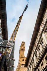 Le Palazzo Vecchio et la Torre d'Arnolfo à Florence