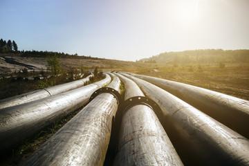 Pipeline bei Sonnenschein