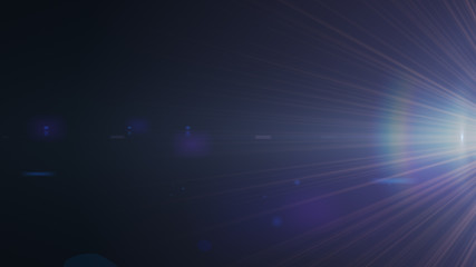 Real Lens Flare Shot in Studio over Black Background. Easy to add as Overlay or Screen Filter Photos