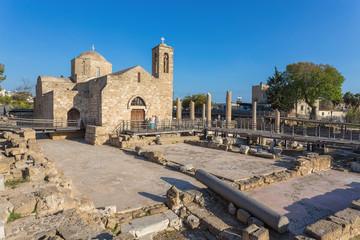 Panagia Chrysopolitissa Basilica in Paphos