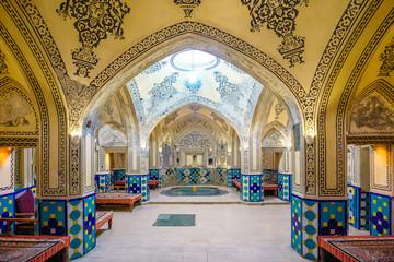 Sultan Amir Ahmad Bathhouse in Kashan, Iran