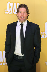 NHL hockey player Mike Fisher arrives at the 46th Country Music Association Awards in Nashville