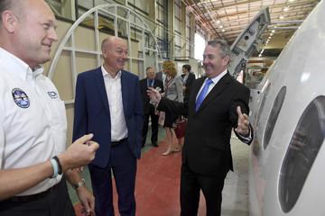 International Trade Secretary Liam Fox visits EDM Ltd in Newton Heath, Manchester