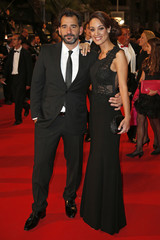 """Jury President of Film selection """"Un Certain Regard"""" Pablo Trapero and his wife Martina Gusman pose on the red carpet for the screening of the film """"Relatos salvajes"""" in competition at the 67th Cannes Film Festival in Cannes"""