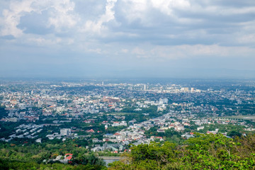 Cityscape .Chiang Mai Thailand is both a natural and cultural destination in Asia.
