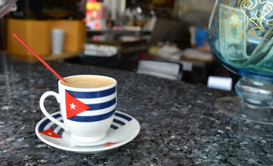 cup of cuban coffee in miami
