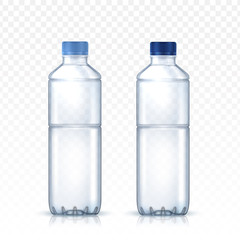 blank water bottle
