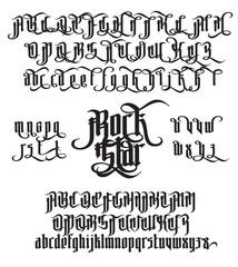 Rock Star Gothic Font
