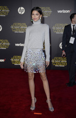 "Singer Zendaya arrives at the premiere of ""Star Wars: The Force Awakens"" in Hollywood"