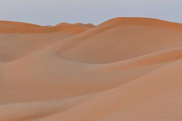 Poster de jardin Desert de sable unberührte Sanddünen im Oman