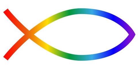 Fisch, Regenbogenfarben